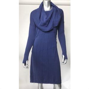 Athleta Dorset Cowl Neck Sweater Dress long sleev